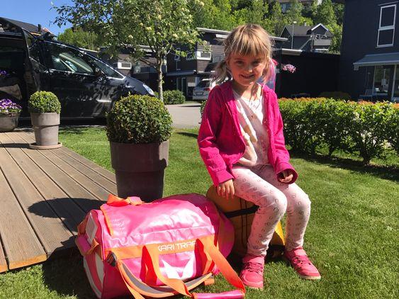 SAVNET: Martine Bunæs Bang ble bare seks år gammel. Nå får forskningen mange penger, takket være innsamlingsaksjonen i hennes navn. Bildet er gjengitt med familiens tillatelse.