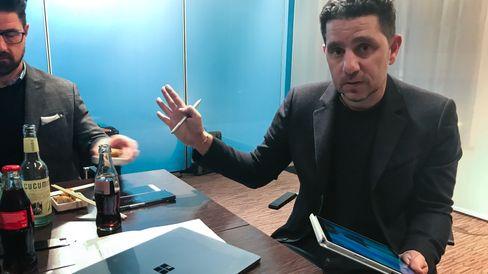 Microsofts Surface-sjef Panos Panay.