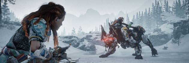 Se 12 minutter fra Horizon Zero Dawn: The Frozen Wilds