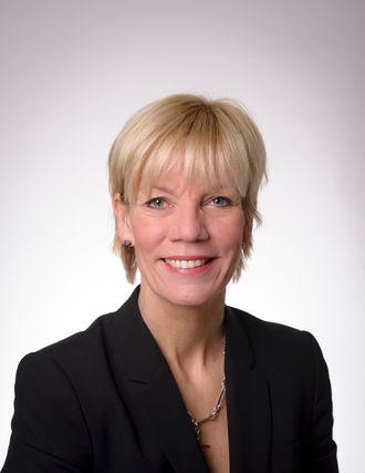 Kommunikasjonsdirektør Marit Kvikne ved St. Olavs hospital