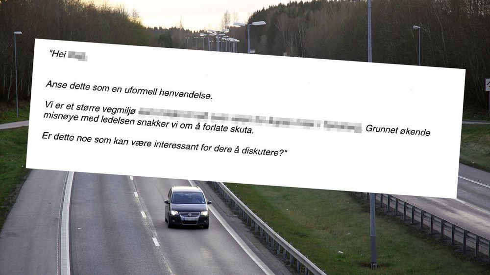 Sivilingeniøren skal ha sendt en epost med denne ordlyden til en leder hos konkurrenten Asplan Viak mens han var ansatt i Rambøll.