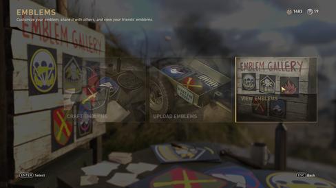 Ein av fleire funksjonar i spelet som enno ikkje er ferdigutvikla, saman med til dømes maling av våpen.