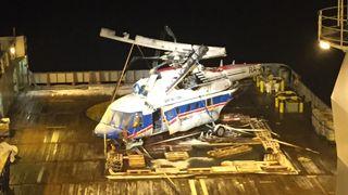 Ferdsskriveren på Svalbard-helikopteret plassert slik at den ble smadret i krasjen