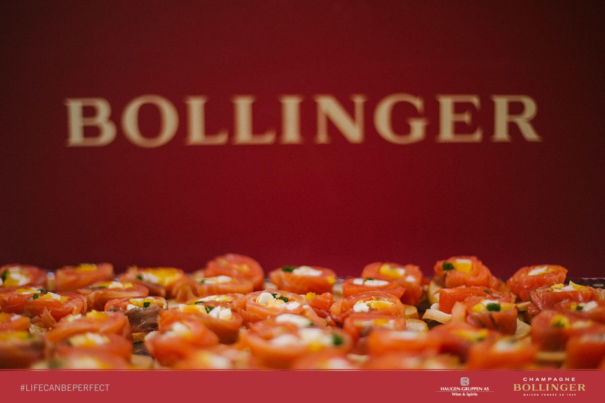 LEGENDARISK: Bollinger er viden kjent for god kvalitet. Og koblingen til en viss engelsk spion...
