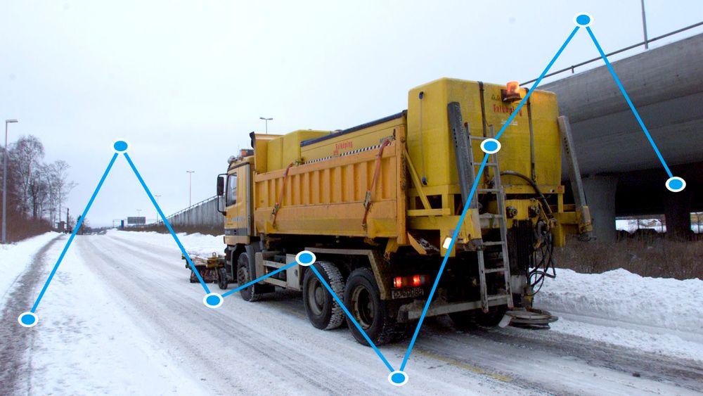 Etter flere år med økning ble det endelig saltet mindre på norske veier vinteren 2016/2017.