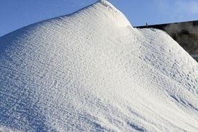 HAUGEVIS: Flere tonn snø produseres i løpet av en vinter.