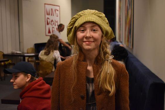 ELSKER TEATER! – Jeg elsker teater, og vil gjøre dette mer fremover, sier en blid Adelia.