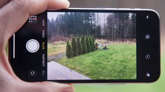Kamera-appen i Iphone X.