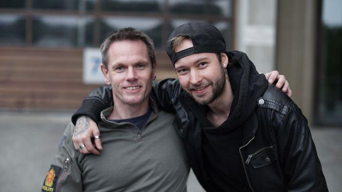 MØTES IGJEN: Møtet mellom Trond og Christian kan du se i dokumentaren på TV2 søndag kveld.