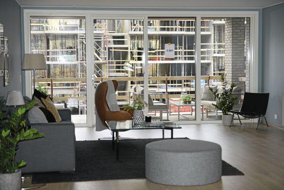 SLIK KAN DU FÅ DET: Visningsleiligheten i Kolbotn Hage viser hvor flott det kan bli i de nye leilighetene.