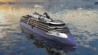 Bygger cruiseskip med dieselmotor for ekspedisjoner i arktis