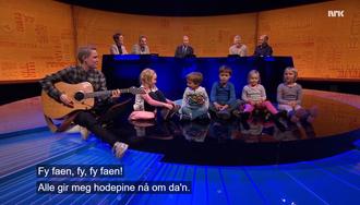 Skjermdump fra NRKs Nytt på nytt 27. oktober 2017.