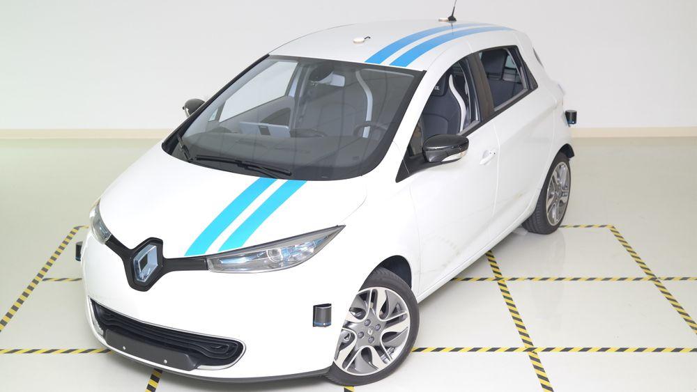 Prototypen Callie er basert på Renaults elbil Zoe.