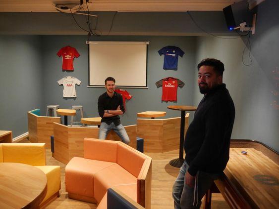 UTVIDET: Et av de nye tilbudene er en forstørret TV-plass for sending av live-sport.
