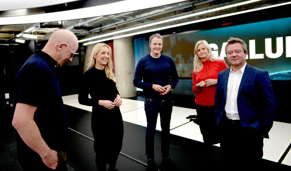 TV 2-profilene gleder seg til nytt studio er på plass.