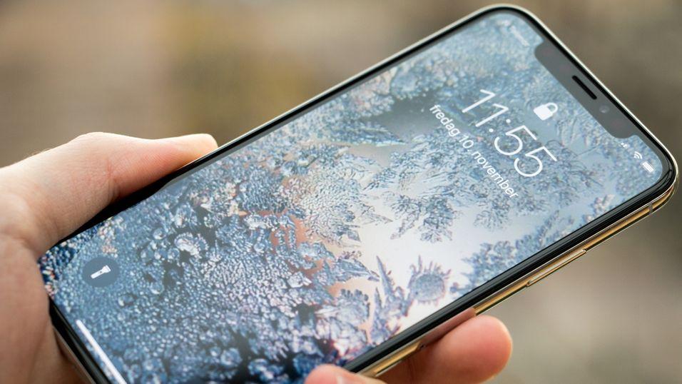 iphone x skjermen reagerer ikke