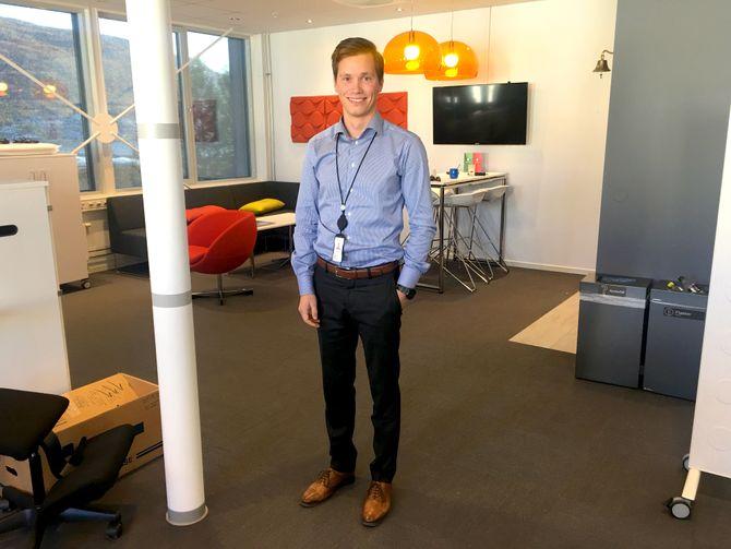 Trives i arbeidslivet: I dag jobber Morten Harjo Pettersen som konsulent i PwC i Tromsø. Han konkurrerer ikke på ski lenger, men er ofte å se i lokale løp.