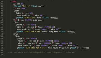 Resten av koden. Her ser du matematikken bak prosentutregningene av tillatt nedetid.
