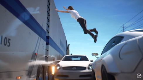 Flotte stunt - men tenk om det ikke bare var filmklipp!