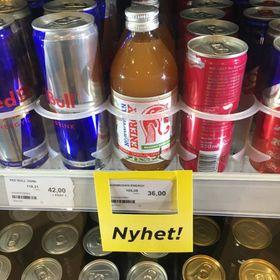 BUTIKK: I fleire butikkar er det nå mogleg å finne Norwegian Energy.