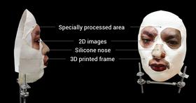Masken er en ganske omstendelig sak og kan nok ikke uten videre lages av hvem som helst.