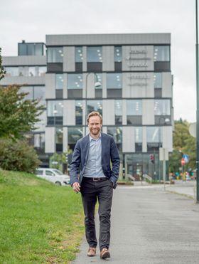 Sundtkvartalet er utviklet som en joint venture mellom Entra og Skanska. En viktig målsetning har vært å kunne bidra til å løfte området, forteller prosjektsjef Geir Graff-Kallevåg i Entra.