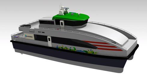 Norled bestiller hybrid hurtigbåt: – En prestisjekontrakt for oss