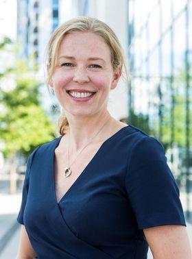 ENGASJERER SEG: Linda Nilsen Methi er talsperson i Stopp Støyen, og svært engasjert i saken på Taraldrud.