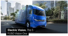 Daimlers E-Fuso Vision One.