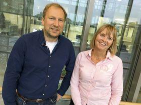 Per Qvalben og Anette Aanesland i Nye Veier mener fordelene er mange ved bruk av BIM fullt ut i samferdselsprosjekter.