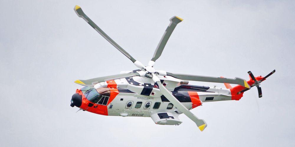 Det første AW101-redningshelikopteret skal leveres til Norge i nær framtid.