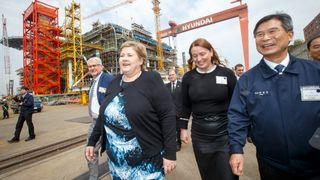 Solberg presset om Goliat-rotet: – Søviknes var «service-minded» overfor Stortinget