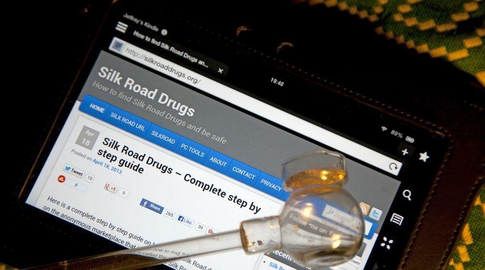 Det illegale markedet Silk Road, mest kjent som en stor markedsplass for narkotika, ble stengt av FBI i 2013.