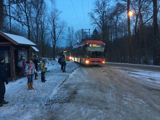 OMDISKUTERT RUTE: 86-bussen er et hett tema, og har vært det en god stund.