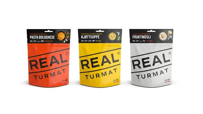 Real Turmat i ny innpakning.