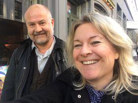 REGISSØRENE: Her er Trond Jacobsen og Marianne Müller, de to som har regissert