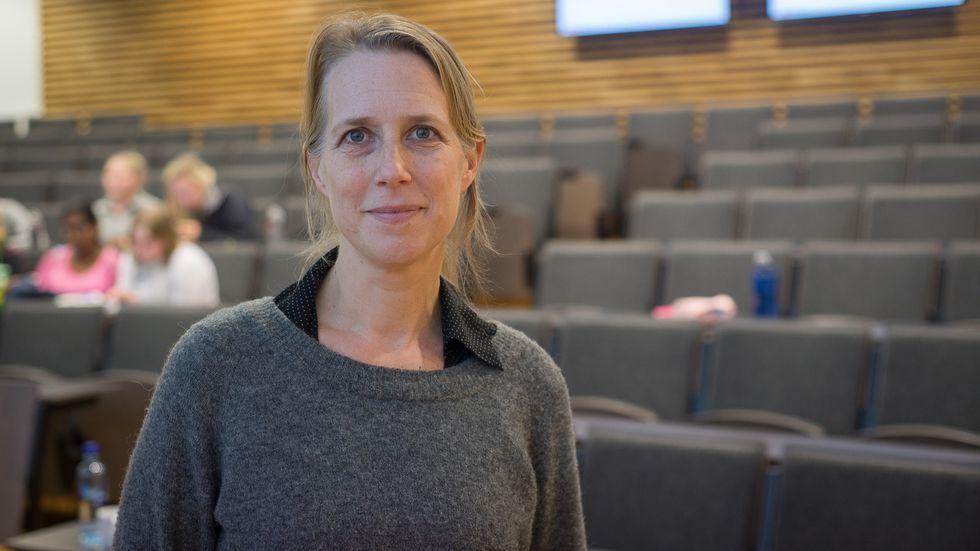 NETTVETT: Å læra barn trygge vanar på internett blir stadig viktigare, meiner Kaja Hegg i Redd Barna.