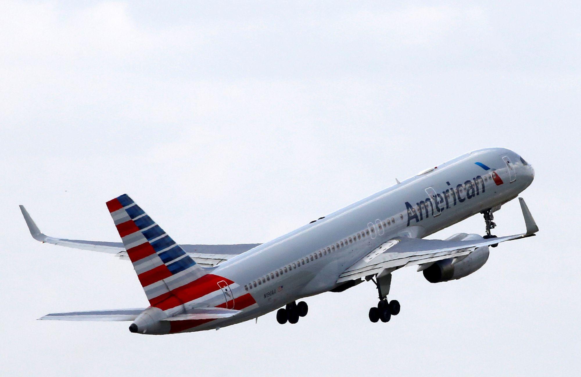 Det var et tilsvarende fly som dette, en Boeing 757, som DHS greide å hacke. Det avbildede flyet tilhører American Airlines.