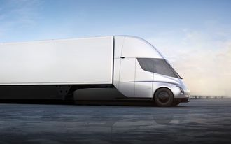 Tesla Semi er Teslas kommende lastebil.