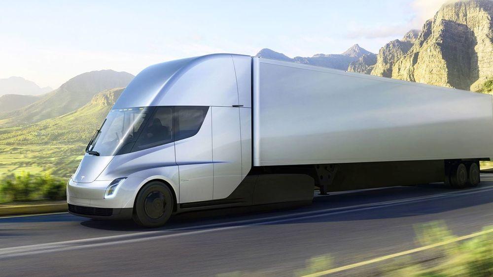 Tesla Semi ble lansert i Los Angeles i morgentimene norsk tid.