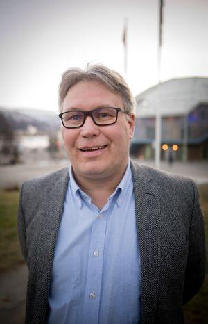 Politisk redaktør Skjalg Fjellheim i Nordlys