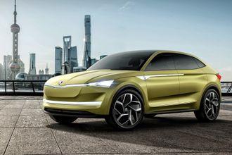 Škoda Vision E skal trolig produseres fra 2020.