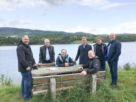 Ledergruppen (f.v.): Mark Robinson, Kevin Lemans (HDR), Brian Kowakchuk (HDR), Pål Brun, Daniel Hodges, Sigge Pedersen og Håvard Lillebo sittende i forkant.
