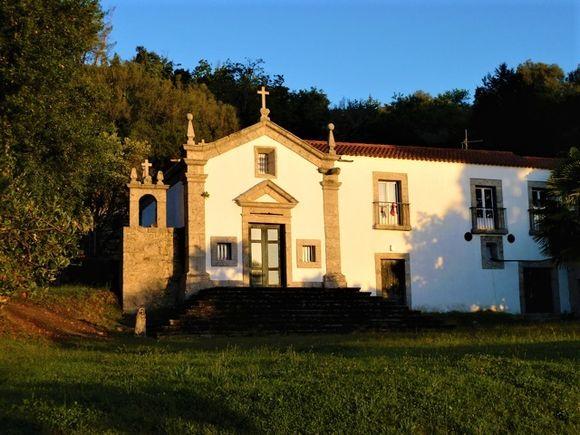 Hovedhuset på vingården fra 1500-tallet er bygd i granitt - akkurat som grunnen vinmarkene hviler på.