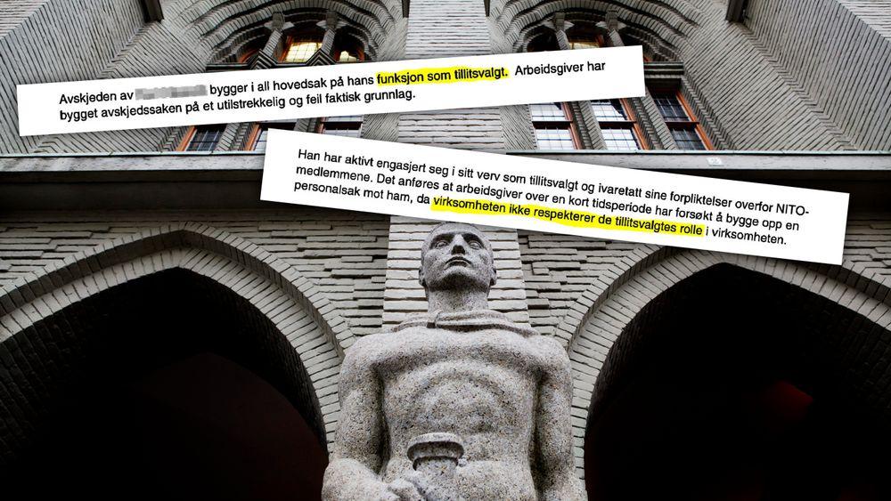 En avskjediget ingeniør skulle etter planen møtt arbeidsgiveren Karsten Moholt i Bergen tingrett neste mandag.