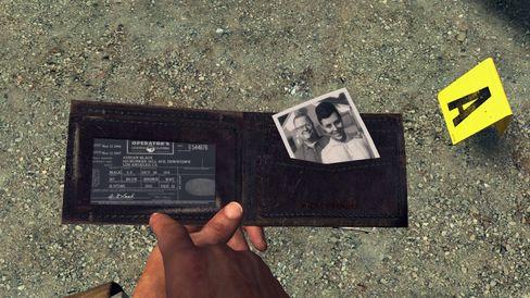 Cole hadde vært mer interessert i pengene enn i bildet hvis dette hadde vært et GTA-spill.