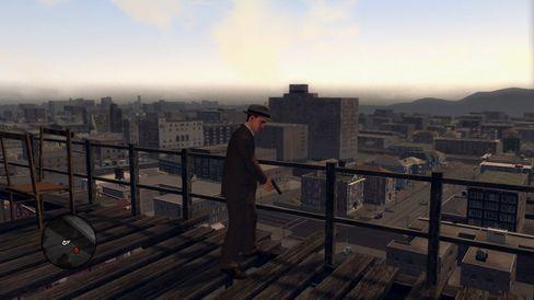 Utsiktene er ikke spesielt vakre sammenlignet med de fleste moderne spill.