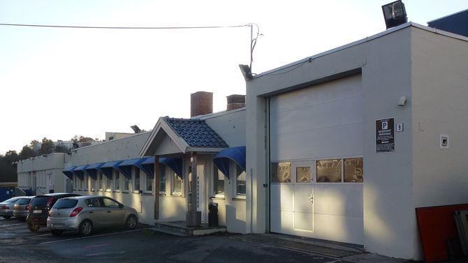 I denne bygningen på Ryen i Oslo holder Tights.no til.