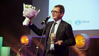 Hydro-sjef Svein Richard Brandtzæg er Årets teknologileder
