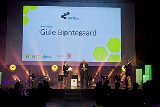 Prisen ble delt ut på Industri Futurum-konferansen på Gardermoen mandag kveld.